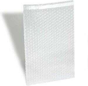 100 8x15 5 Bubble Out Pouches Bags Wrap Cushioning Self Seal Clear 8 X 15 5