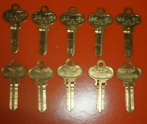Lot Of 10 Keys Se1 replacement For Ilco 1022 Key Blanks Made In Usa