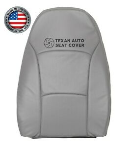 2004 Ford E150 E250 Econoline Van Driver Lean Back Perforated Seat Cover Gray