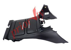 84127584 Floor Center Console Cup Holder Black Leather Heated Cooled Seat