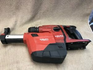 Hilti Te 6 a36 Rotary Hammer With Te Drs 6 a Vacuum Good Condition Ships Free