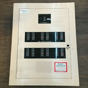 Fci Fc 72 Fire Alarm Control Panel 12 Zone Complete Tested Working With Can