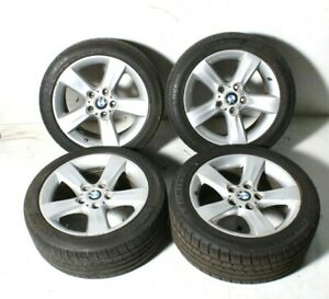 01 03 04 05 06 Bmw E46 325ci 17 Alloy Wheels Tires Rims Set Oem Staggered