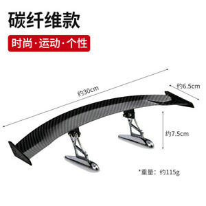 Car Accessories Abs Universal Mini Rear Spoiler Wing Truck Tail Auto Parts 50cm