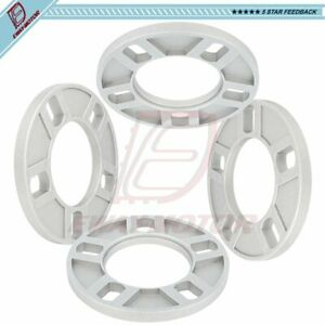 4pc 1 2 Universal Wheel Spacers 5x108 5x110 5x114 3 For Jeep Ford Lincoln Chevy