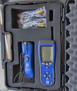 Tif3320 Tif Spx 3320 Differential Thermometer W Infrared Thermometer Hvac Case