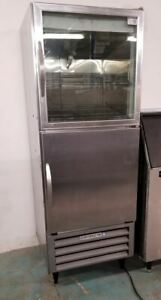 Beverage Air 1 2 Glass 1 2 Solid Door Reach In Cooler Ri18 hgs arb