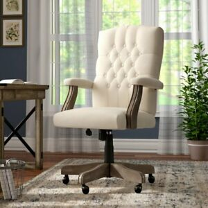 Executive Chair Office Leather Gaming High Back Desk Swivel Tilt Seating Lumbar