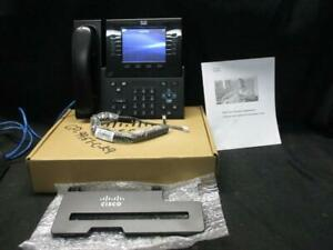 Cisco Cp9951 c k9 Unified Ip Phone W handset Phone Stand