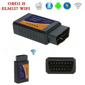 For Pc Iphone Ipad Elm327 Wifi Obd2 Obdii Car Diagnostic Scanner Auto Scan Tool