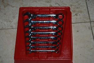 Snap On 8 Pc Short Standard Wrench Set 11 32 3 4