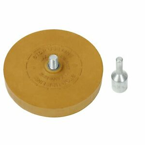 Rubber Eraser Wheel for Adhesive Sticker Pinstripe Decal Graphic Remover $10.23