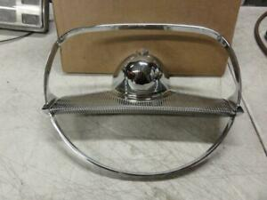 Vintage 1955 1956 Plymouth Steering Wheel Horn Ring Nice