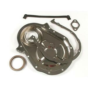 Mr Gasket 4591 Chrome Timing Cover Kit Bbc