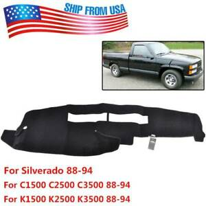 For Chevrolet Silverado 1988 1994 Dash Mat Dashboard Cover Dashmat Carpet Us