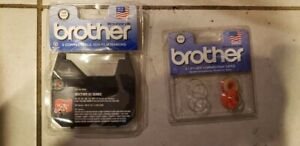 Brother Typewriter Ax Series 1230 Black Ink 3010 Lift Off Correction Tape