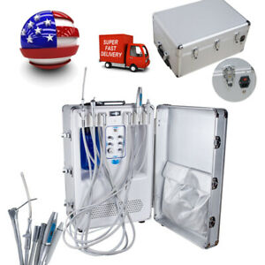 Dental Delivery Turbine Unit Air Compressor Scaler Curing Complete Function Fda