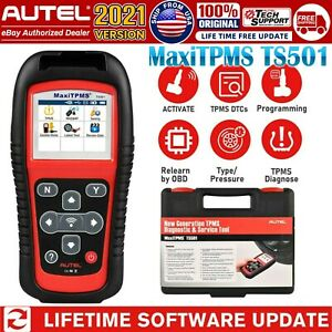 Autel Ts501 Auto Tpms Program Activate Tire Pressure Sensor Diagnostic Scan Tool