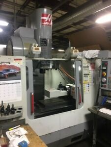Used 2006 Haas Vf 2ss Yt Cnc Vertical Machining Center Mill 30x20 12k Rpm 30hp
