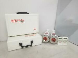 Biotest Hycon 940215 Rcs High Flow Air Sampler Lot Of 2