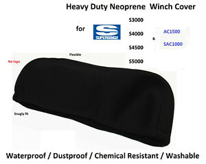 Heavy Duty Winch Neoprene Cover For Superwinch S3000 S4000 S4500 S5000 M02