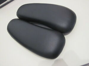 Herman Miller Aeron Chair Leather Arm Pads New For All Sizes Genuine Aeron Parts