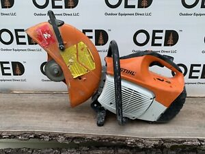 Stihl Ts420 Concrete Cut off Saw 14 Nice Project Parts Saw Look Ships Fast