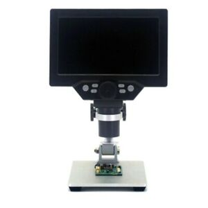 G1200 Digital Microscope 7 Inch Large Color Screen Large Base Lcd Display B9l7