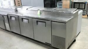 Used True Tpp 93 93 Refrigerated Pizza Prep Table