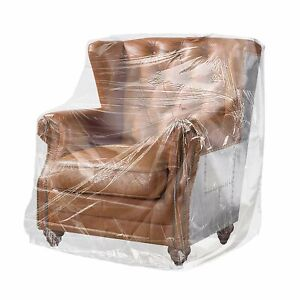 230 General Furniture Covers On Roll 28x17x70 Clear Plastic Bags Home Furniture