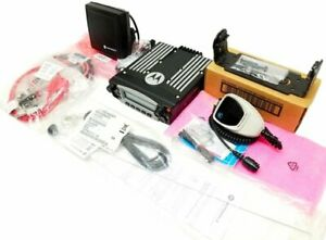 Motorola Xtl5000 Vhf P25 Digital Trunking Mobile Radio Kit 50w Aes256 Desofb Adp