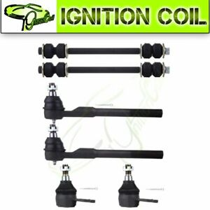 For 2000 2001 Dodge Ram 1500 Suspension Parts 6pcs Front Ball Joint Sway Bar