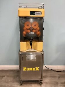 Zumex 200 Commercial Juicer With Cart