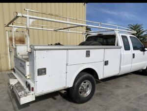 8ft Stahl Utility Bed W Ladder Rack 8 Ft