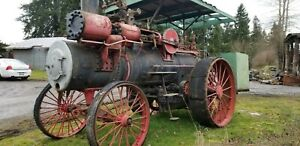 1900 Russell Steam Traction Engine Tandem Compound Serial Number 10002