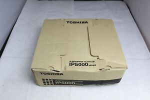 new Open Box Toshiba Ip5022 sd 4 line 10 button Display Ip Business Phone