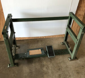 pre owned Industrial Sewing Table Stand