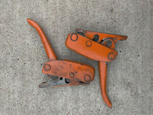 Vintage Original Datsun Tailgate Latches Set Pair Left And Right