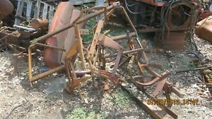 Ac Allis Chalmers Wd Wd45 Tractor 2 Row Cultivator Not Complete