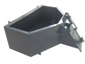 Mini Skid Steer 1 2 Yard Concrete Bucket Hopper Toro Dingo Etc