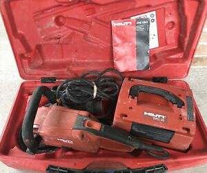 Hilti Dg150 Diamond Cup Wheel Grinder With Power Converter Dpc 20 And Cup Wheel