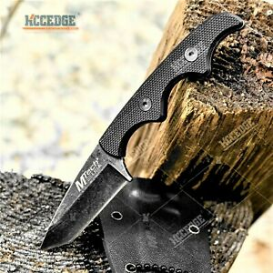 5quot; Tactical Knife Full Tang Tanto Blade Kydex Sheath Survival Knife Hunting $14.38