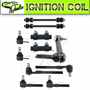 Complete 11 Front Ball Joint Tie Rod Steering Parts For 2001 2000 Dodge Ram 1500