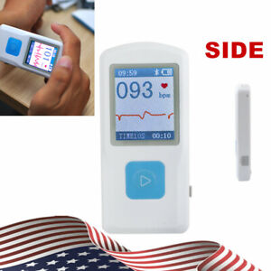 Pm10 Portable Handheld Ecg Ekg Machine Heart Beat Monitor usb Bluetooth lcd Top