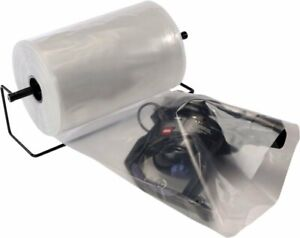 Clear Poly Tubing Tube Plastic Bag Polybags Custom Bags On A Roll 4 Mil