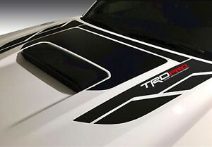 Trd Toyota Tacoma Pro Hood Decal Lasts 7 High Quality Free Installation Kit