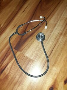 Vintage Littman 3m Stethoscope Black 25 Nurses