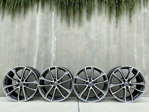 4 Audi S4 19 Factory Oem Wheels Full Set 2017 2018 2019 59033 8w0601025bf
