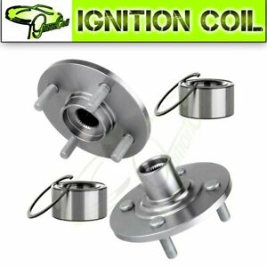 2 Front Wheel Bearing Hub For 94 02 Saturn Sc1 Sc2 Sl Sl1 Sl2 Sw1 Sw2 Base 1 9l