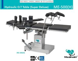 Hydraulic Ot Table Surgical Operation Theater Table Operating Table For Surgical